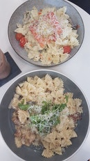 Truffle pasta was the hit
