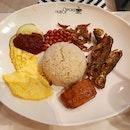 Nasi Lemak With Fish And Otah
