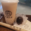Oolong Milk Tea With Assam Tea Egg