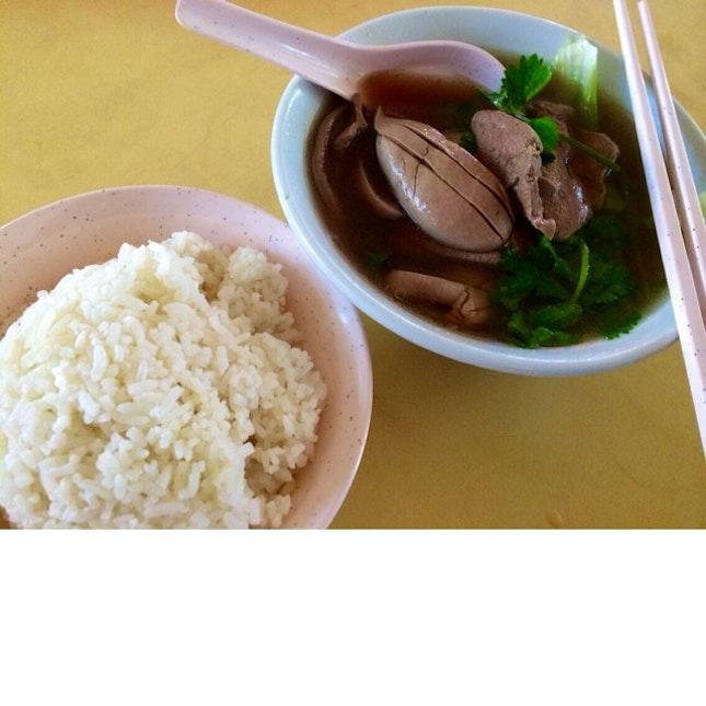 Pig Liver + Kidney Soup ($5)