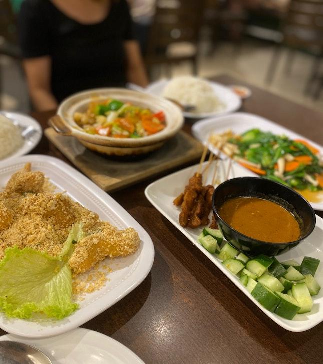 Vegetarian Tze Char