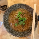 Mee Sua + Grilled Intestines