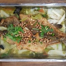Preserved Veg Grilled Fish!