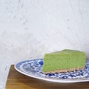 matcha cheese cake (HKD $45) @ teakha, HK
