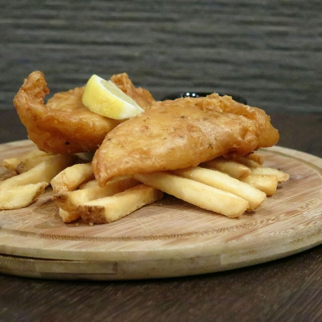 fish and chips ($9) @ the carving board