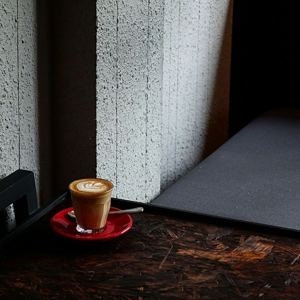 flat white @ tanamera coffee, thamrin city office park, jakarta