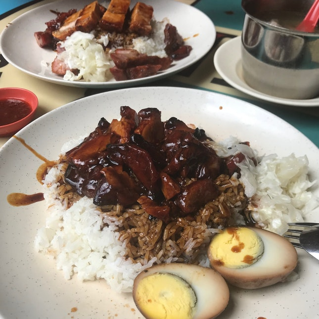 They Used To Serve The Best Char Siew Shao Rou Fan