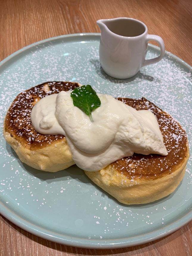 Soufflé Pancake ($7.90++)