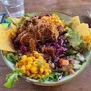 Pulled pig Salad