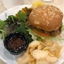 Miso Pork Burger With Nyonya Achar