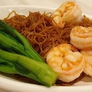 King Prawns In XO Sauce With Tossed Noodles | $11