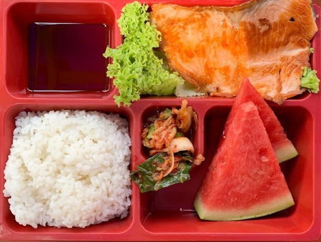 Salmon Bento Set | $6.00