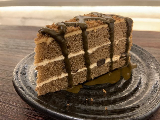 Houjicha Cake   $7.80