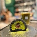 Matcha Azuki Roll Cake (Ceremonial Grade) | $6