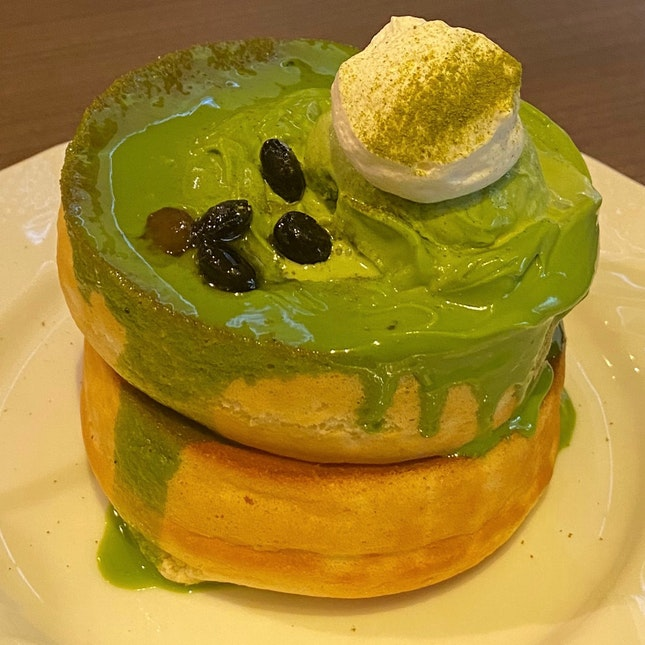 Matcha Soufflé Pancake | $13.50