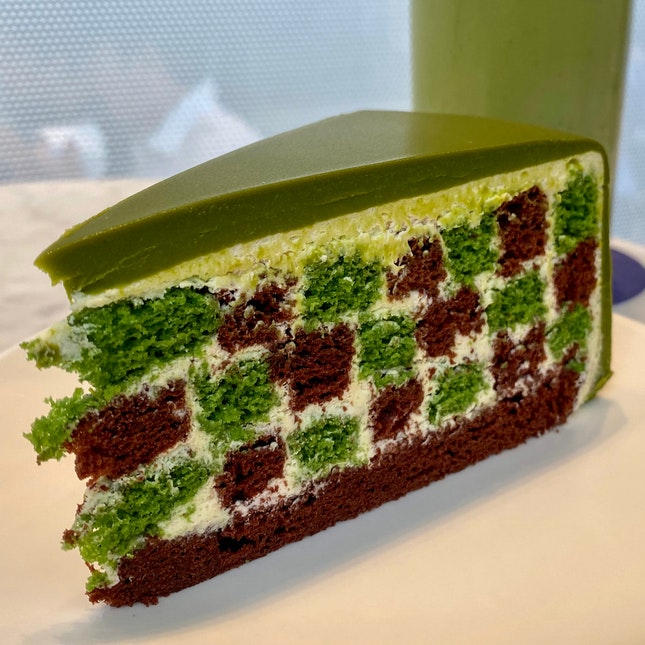 Green Tea Checkers | $12