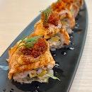 Aburi Salmon Mentaiko Roll | $18.80++