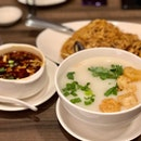 Crystal Jade Porridge & Ee-fu Noodles