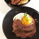 Wagyu Roast Beef Don & Unagi Don