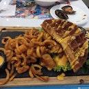 Doomsday chicken Waffle