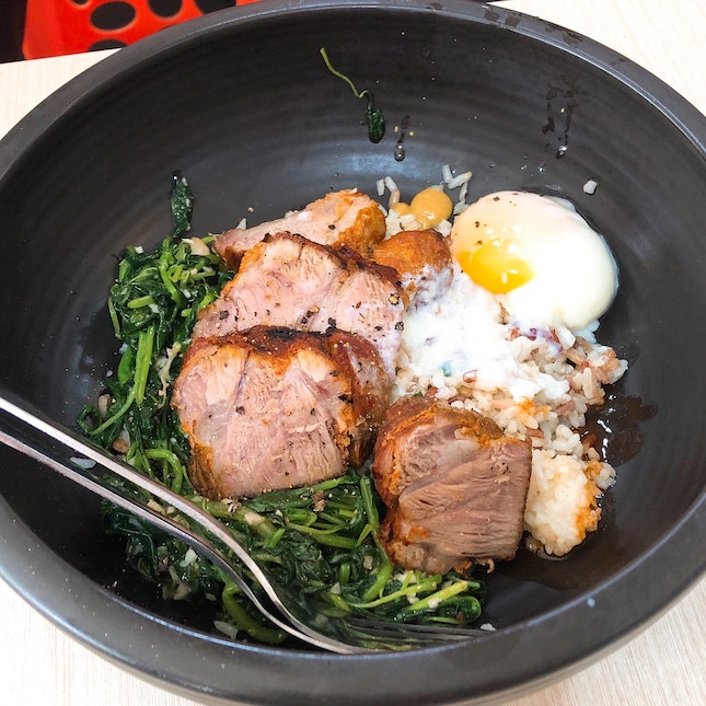 Mad Charcoal - Grilled Pork Lunch Set ($6.90)