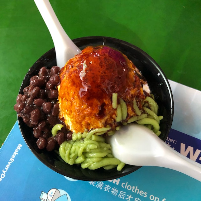 Nonya Chendol With Red Bean ($2)