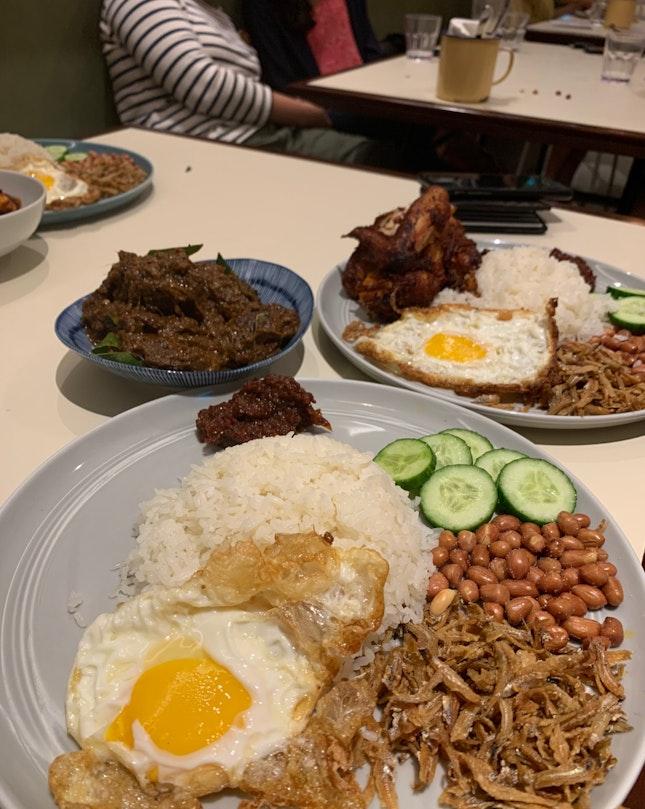 Overrated Atas Nasi Lemak