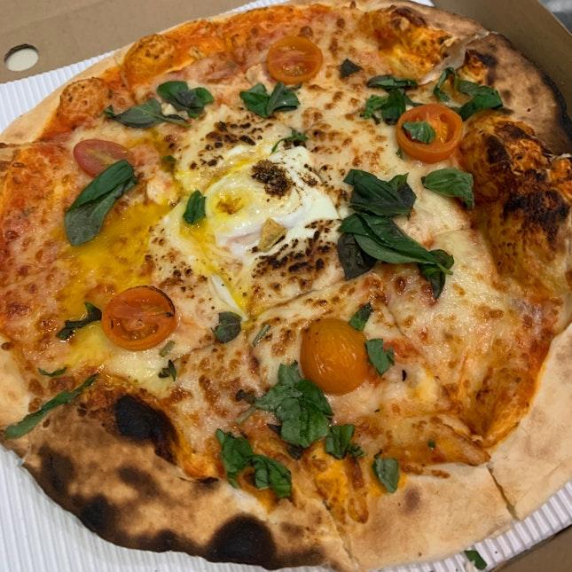 Margherita Pizza + Egg