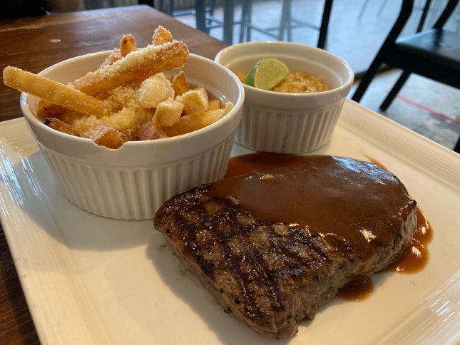 Awesome Steak and Fries!