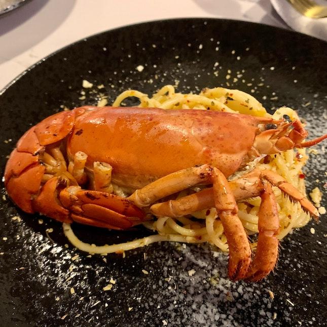 Boston Lobster Aglio Olio