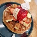 Raspberry + Creme Brulee