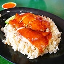 Hong Kong Soy Sauce Chicken Rice || Beauty World Food Centre, Singapore.