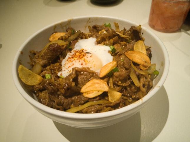 Sukiyaki Beef Don