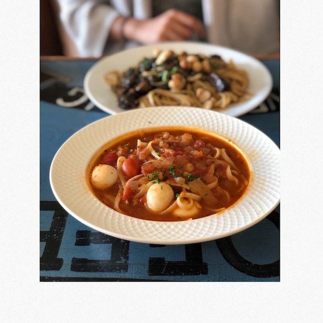 Soupy Tomato Shabu Shabu