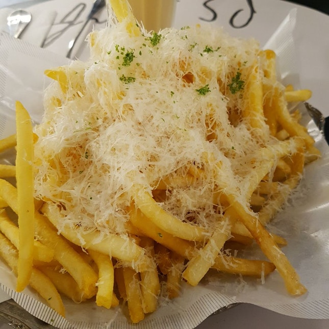 Truffle Fries ($15)