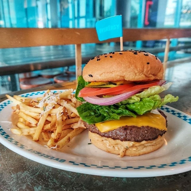 """""""To-die-for"""" Burger ($26)"""