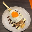 Hashimaki with Cheese & Metaiko (Pancake with Eggs)