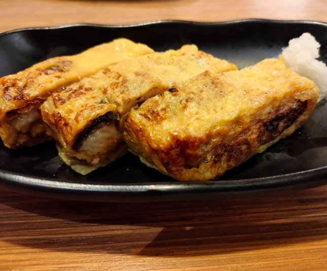 Unagi As Appetizer