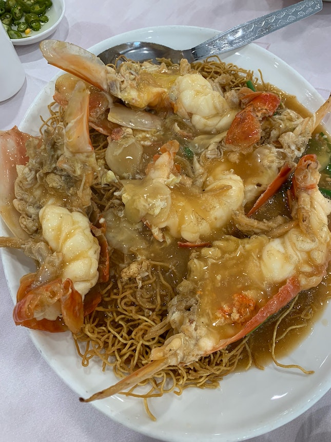 Fresh Prawn Noodles (Sang Har)