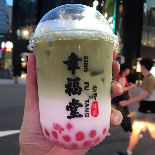 Matcha Pearl Milk