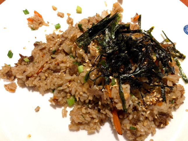 Garlic Beef Fried Rice