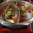 Chong Qing Grilled Fish Dual Fish Hotpot