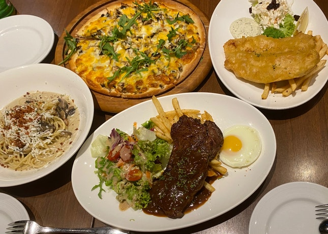 4 Main Dish @ $70.62