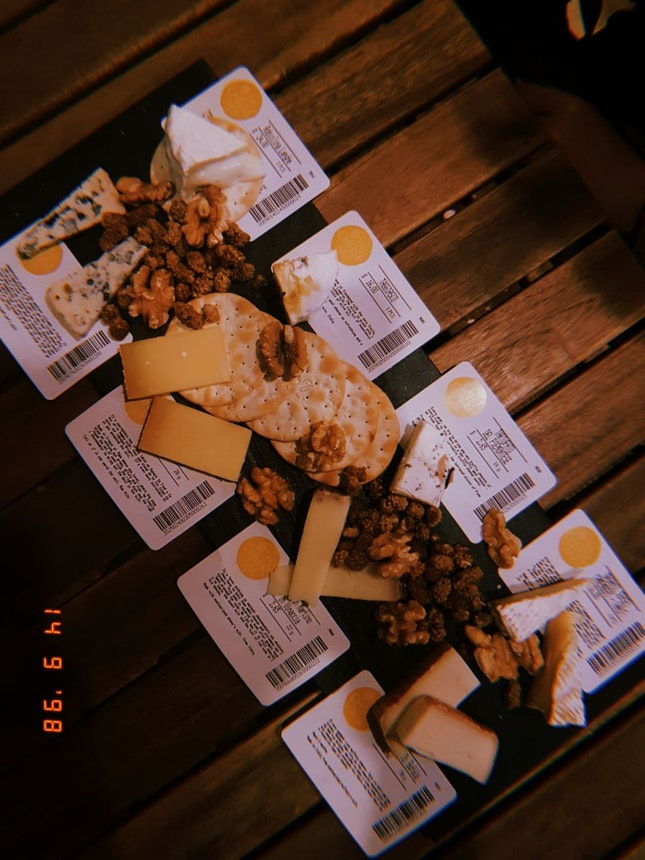 cheese platter (omakase style)