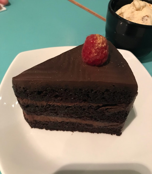 85% Dark Chocolate Cake