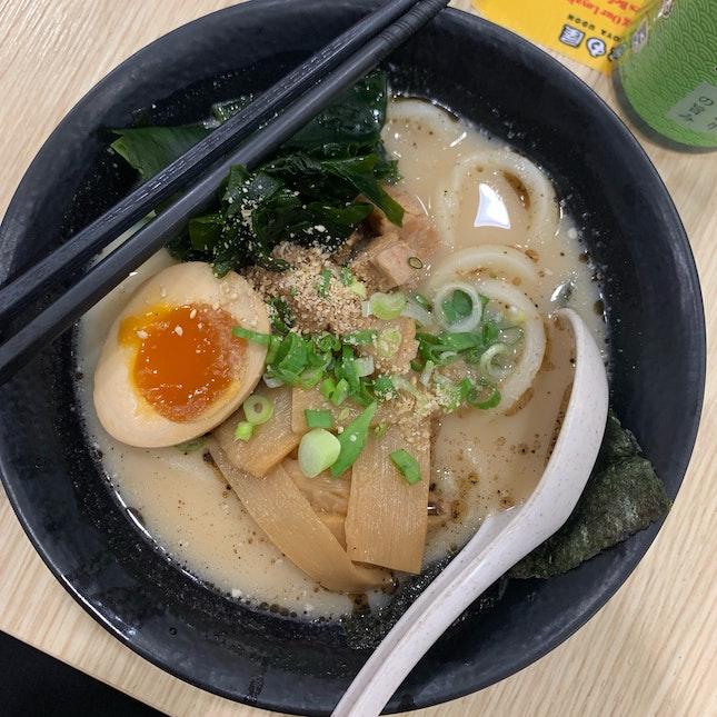 Black Garlic Tonkatsu Udon