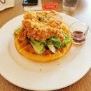 Chicken & Waffle - $19