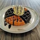 Waffle With Gelato