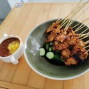 Pork Satay - 10 For $9