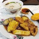😋 Ampong Yong Tau Foo (S$4.50) for dinner.